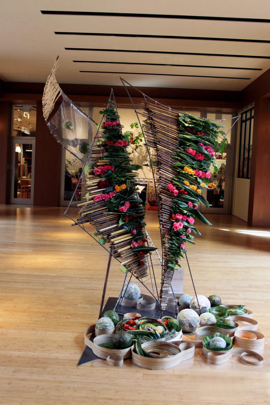 2011年 Flower-art-award 六本木ミッドタウン
